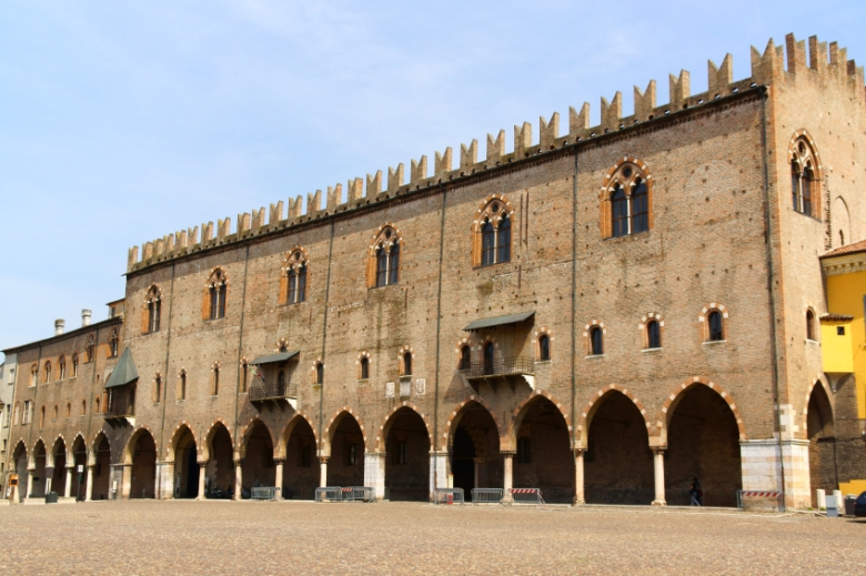 Ducal Palace in Mantua, Italy